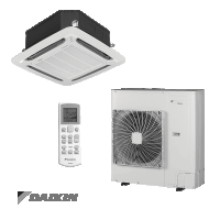 Daikin ACQD 4 Way Blow Cassette Inverter