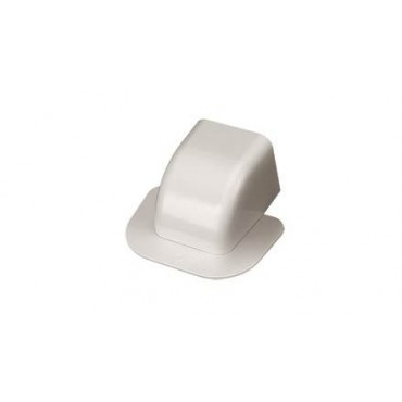 Wall Outlet Cover for 80mm x 60mm Trunking