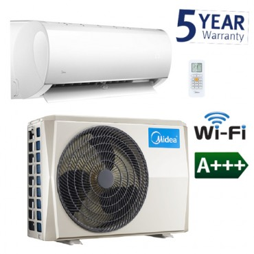 5.0kW Midea Blanc Wall Mounted System